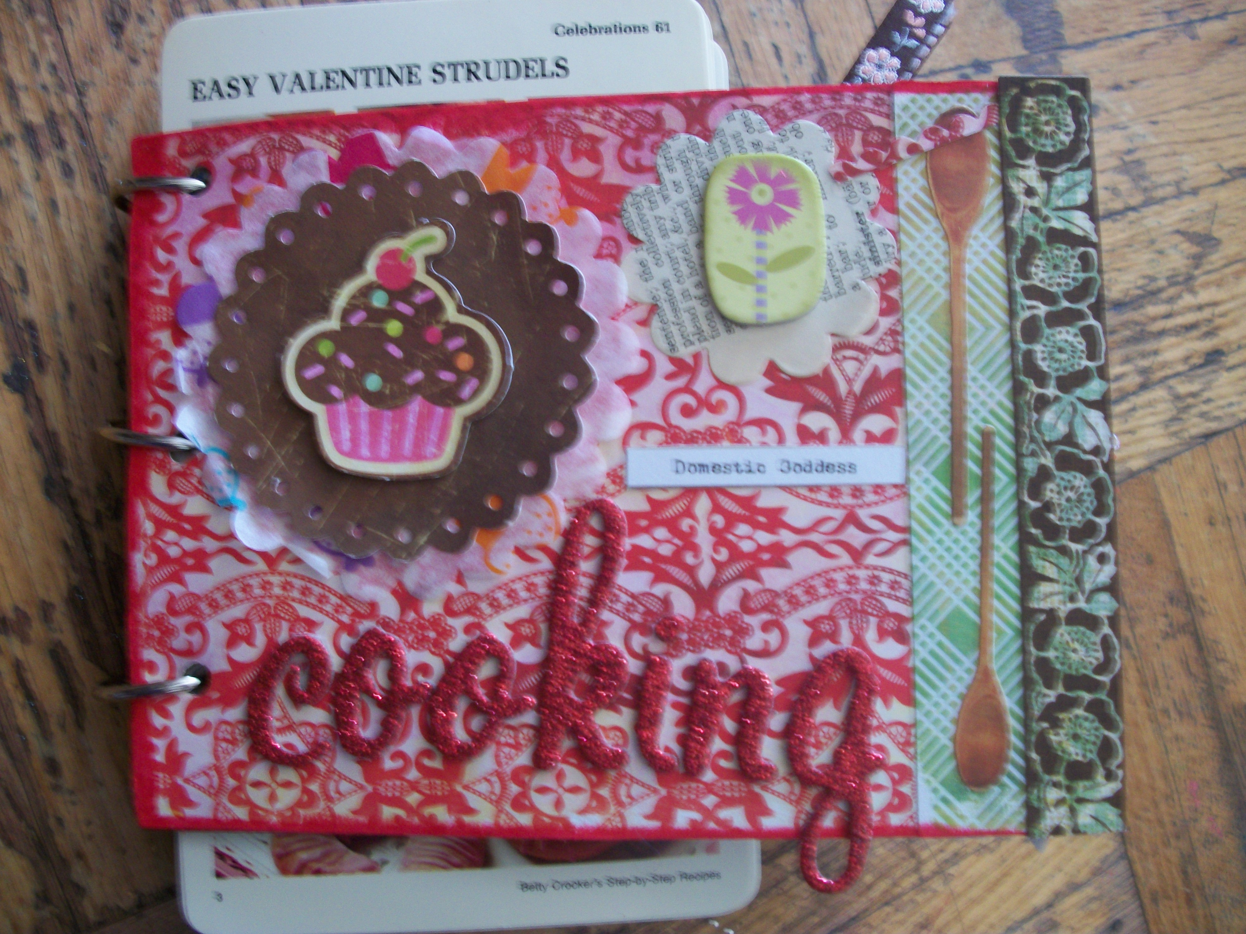 How to make scrapbook easy - Quote